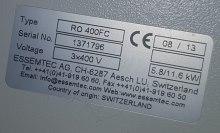 piec rozpływowy Essemtec RO400FC