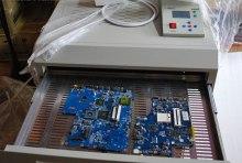 PUHUI T962C BGA Rework Station , Reflow Oven Machine Infrared Heater 2500W